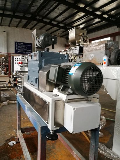 High Quality Twin Screw Extruder Machine with Heavy Duty Gearbox Low Noise  Design