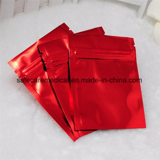 Mylar Medicine Bags Aluminum Foil Zipper Bag for Long Term Food Storage and Collectibles Protection Ziplock
