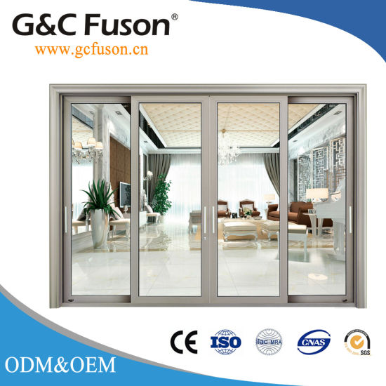 China Aluminum Glass Single Hanging Sliding Interior Doors China