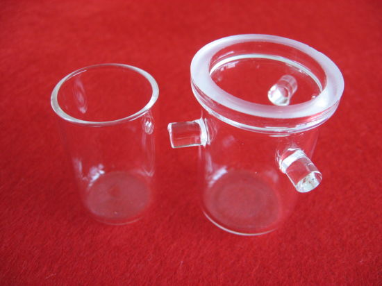 Rademacher Clear Quartz Crucibles for Melting Silica Crucibles pictures & photos