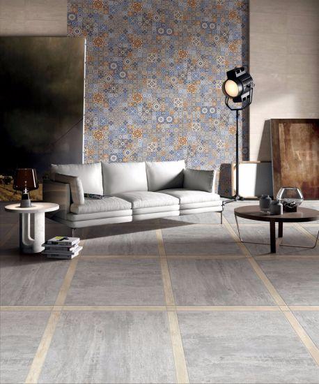 China Italian Concept Construction Rustic Ceramic Floor Tile Hp605