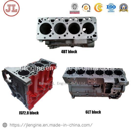 Engine Cylinder Block 4bt 6bt Nt855 K19 M11 Qsb6.7 6lt Isl Isf Qsl