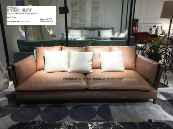 High End Modern Living Room Leather Sofa pictures & photos