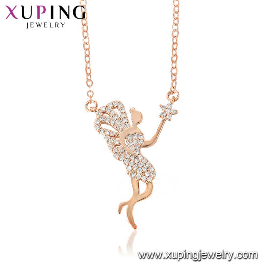 China Popular Rose Gold Color Man Necklace China Jewelry Charming