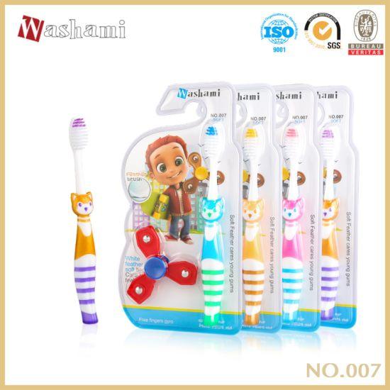 Washami Feather Brush China Wholesale Soft Chid Toothbrush