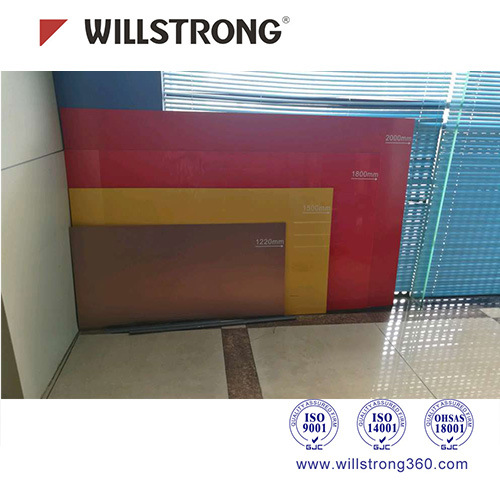 3mm Pet/PVDF Coating Aluminum Composite Material for Signage pictures & photos