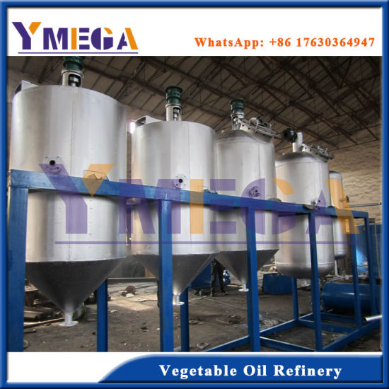 China Manufacturer Supply Food Grade Vegetable Seeds Crude Oil Refinery Equipment pictures & photos