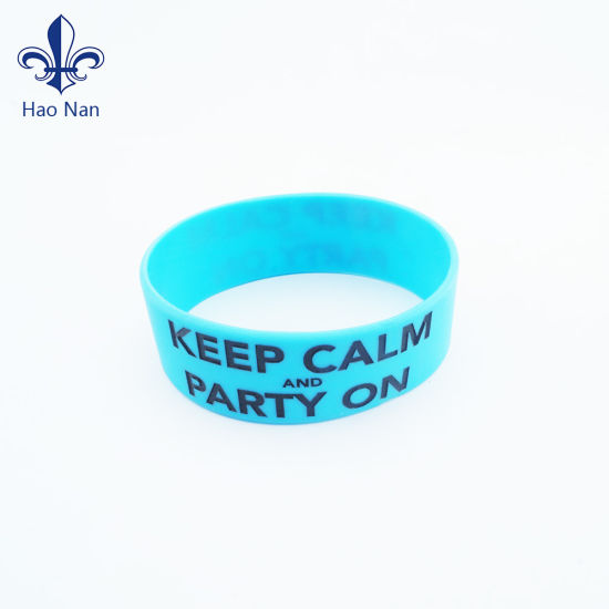 Custom Fashion Silicone Wristbands for Party