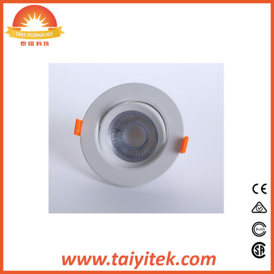 5W-15W Rotatable COB LED Ceiling Spotlights pictures & photos