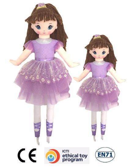 New Fashion Soft Plush Toys Rag Doll for Kids/Girl/Children pictures & photos