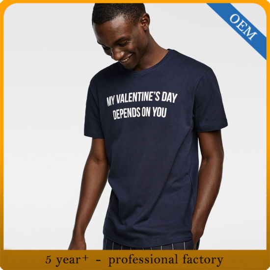 Wholesale Men's Cotton Fashion Printed T-Shirt