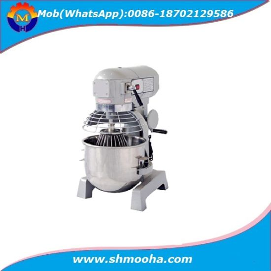 Commercial 20 Liters Planetary Food /Egg /Dough Mixer with 3 Attachments