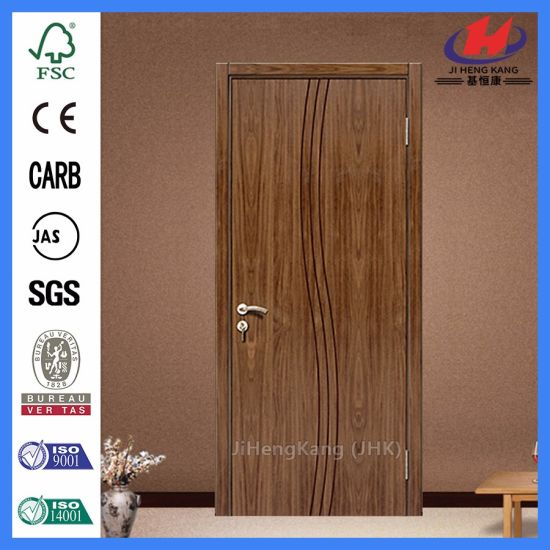 Plastic Double Swing Door For Commercial PVC Interior Door
