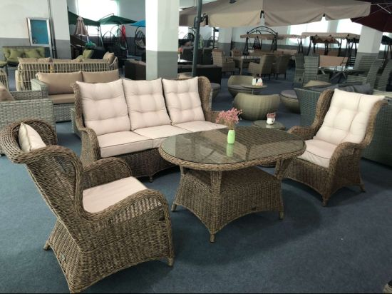 Remarkable China Outdoor Garden Furniture Deluxe High Back 3 Seat Round Caraccident5 Cool Chair Designs And Ideas Caraccident5Info