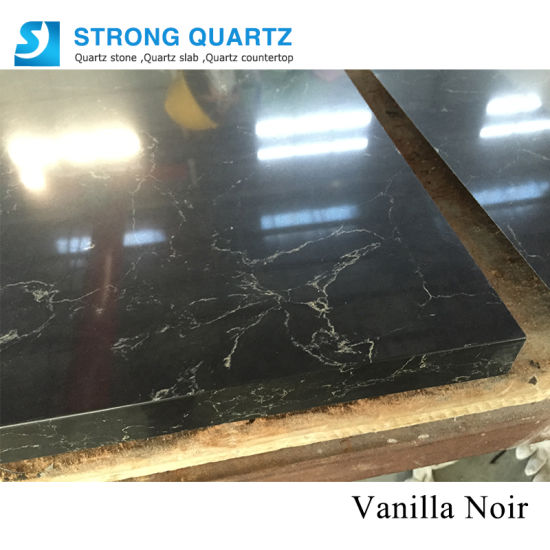 Building Material Quartz Stone Kitchen Countertop Bench Tops Slabs with Veins/Artifical Quartz Stones pictures & photos