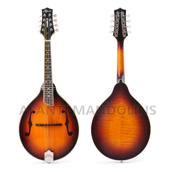 Afanti a Style F Hole Solid Flamed Maple Mandolin pictures & photos