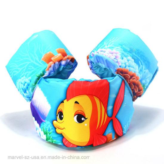 Foam Cartoon Baby Arm Vest Life Kids Swimming Life Jackets