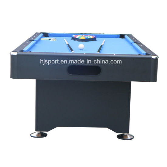 china pub size pool table 6ft 7ft 8ft snooker table blue black