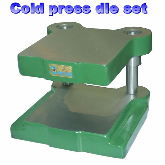 Cold Press Cast Iron Die Set Backside Post pictures & photos