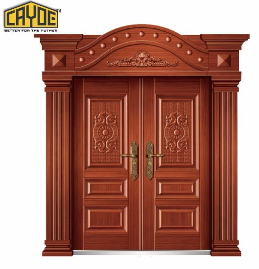Main Entrance Doors Design Teak Wood Tempered Front Door Designs