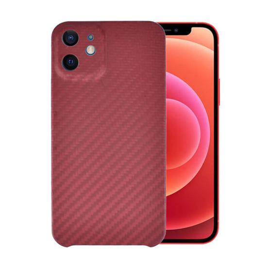 2020 Mobile Phone Accessories iPhone 12 Case Aramid Fiber Phone Case