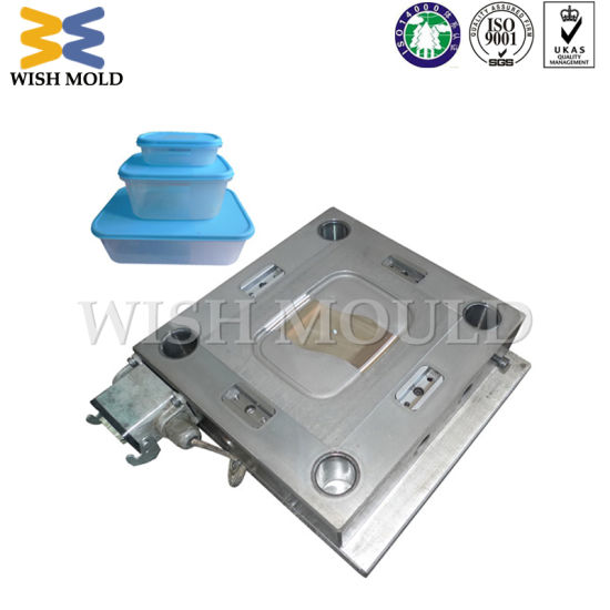 Cheap Injection Molding Molded Plastic Products for Food Box Lid Mold pictures & photos