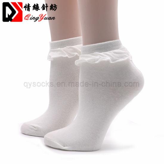 868c3a94ad5db Japanese Kawaii Women′s Socks with Lace Lovely Sock Elegant Ladies Socks  for Women Lace Meias Femininas Ruffle Retro Socks Female