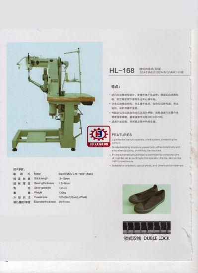 Seat Iner Sewing Machine Shoe Machine 168 Insole Machine