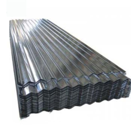Z100 Galvanized Long Span Corrugated Roofing Sheet