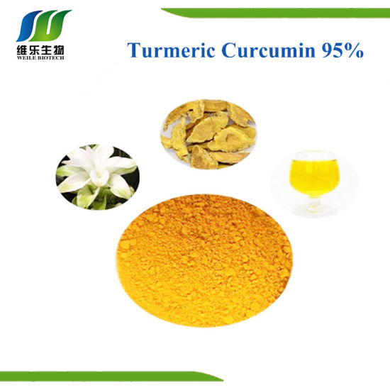 Natural Plant Turmeric Curcumin Extract 95%, CAS No. 458-37-7 pictures & photos