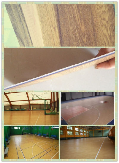 PVC Flooring for Basketball Court pictures & photos