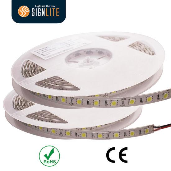 Manufacturer 300LEDs/ 60LED/M Warm White SMD5050 LED Strip Lights