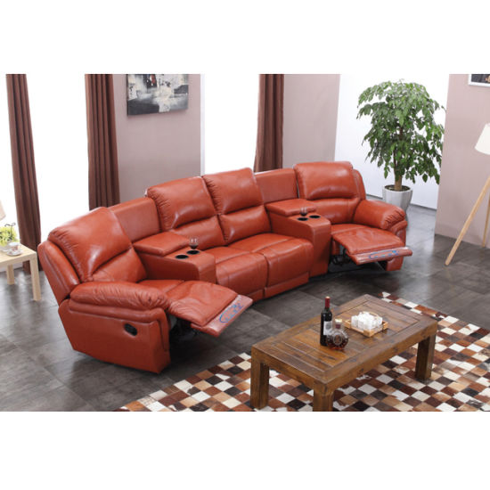 Cinema Recliner Sofa Electric Price Compeive 6014tv