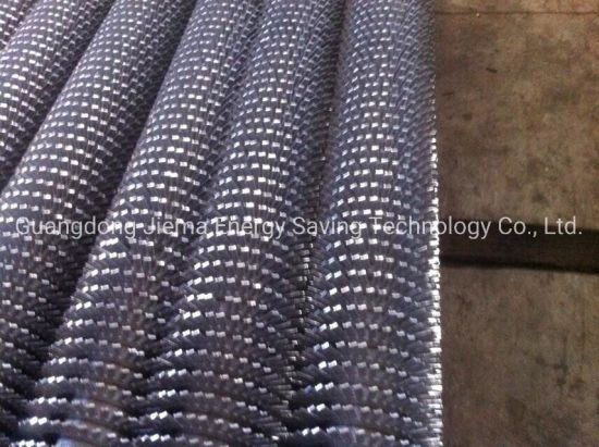 Stainless Steel Finned Tube Air to Water Heat Exchanger with CE ISO Approved