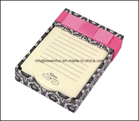 Hot Selling Colorful Note Pad/Memo Pad with Paper Tray