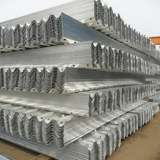 Galvanized Beam Crash Barrier for Highway Guardrail pictures & photos