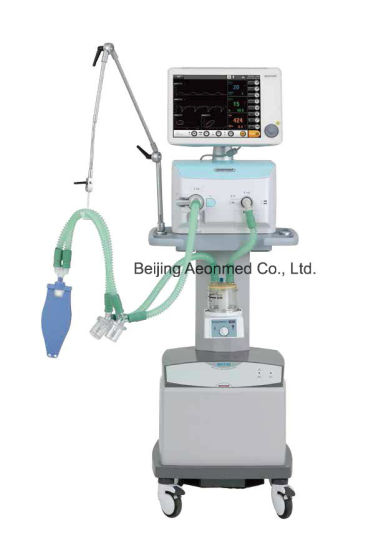 Advanced ICU Ventilator with Air Compressor pictures & photos