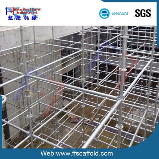 Steel Scaffolding Manufacturers : China steel ringlock scaffolding system scaffold