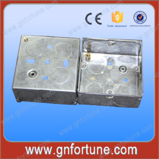 Triple Gang Galvanized Steel Switch Box pictures & photos
