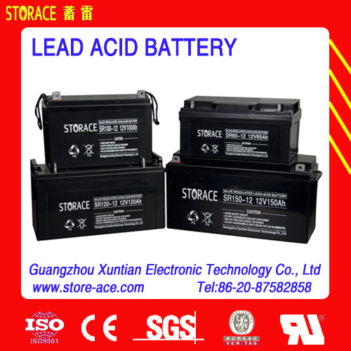 Valve Regulated Lead Acid Batteries, Sr120-12 SMF Battery 120ah pictures & photos