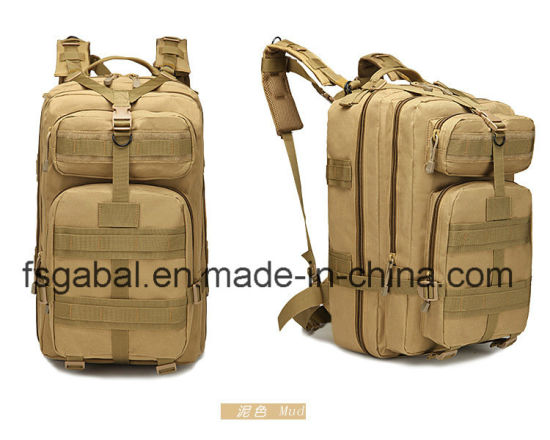 Big Waterproof Outdoor 3p Military Tactical Sports Travle Backpack pictures & photos
