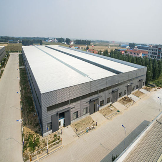 China Prefab Plant Steel Structure Steel Frame Warehouse - China ...