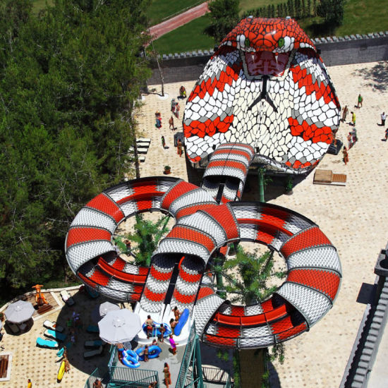 Scary Cobra Water Slide / Water Amusement Park (WS-066)