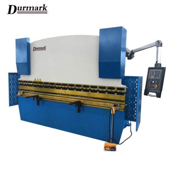 Sheet Metal Plate Wc67y 100t CNC Hydraulic Press Brake Bending Machine