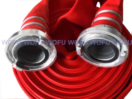 Fire Hose with German Aluminum Coupling