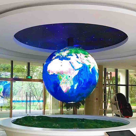 LED TV Open Cell Panel LED Commercial Advertising Display Full Color P3 Spherical LED Display Module Screen