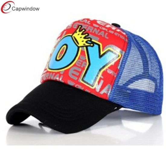 cf706770a04 Kid Trucker Hat Caps with Screen Printing on Front (14065) pictures   photos