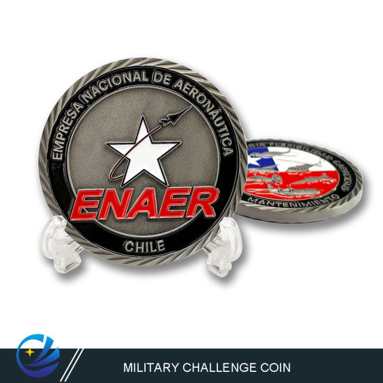 Metal Art Craft 3D Logo Challenge Coin Gifts for Coins Collectors