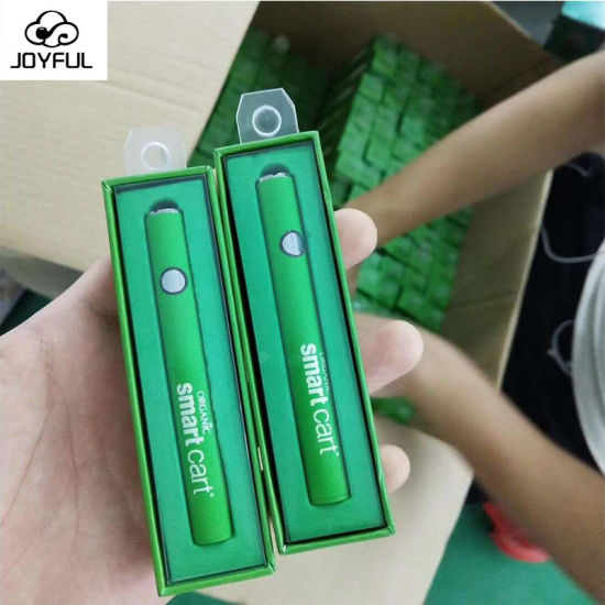 Organic 510 Thread Cbd Oil Battery Smart Cart Battery with 10s Preheating Function