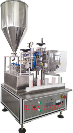 Semi Automatic Tube Filler and Sealer for Ointment Cream pictures & photos